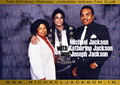 Michael Jackson with his Parents